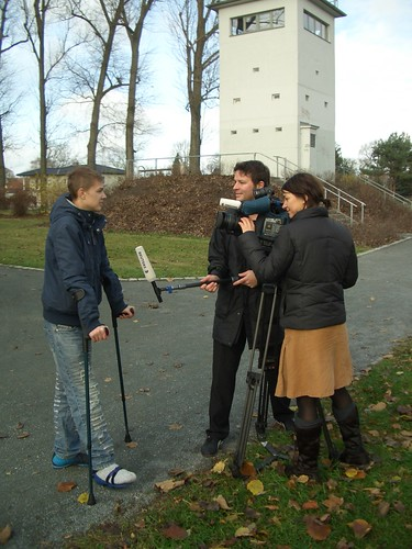 """Reuters TV interviewt Nico zur """"Volljährigkeit"""" des Mauerfalls"""
