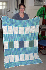 """2005-10-13 Mom's afghan finished 001 • <a style=""""font-size:0.8em;"""" href=""""http://www.flickr.com/photos/20166766@N06/1974769261/"""" target=""""_blank"""">View on Flickr</a>"""