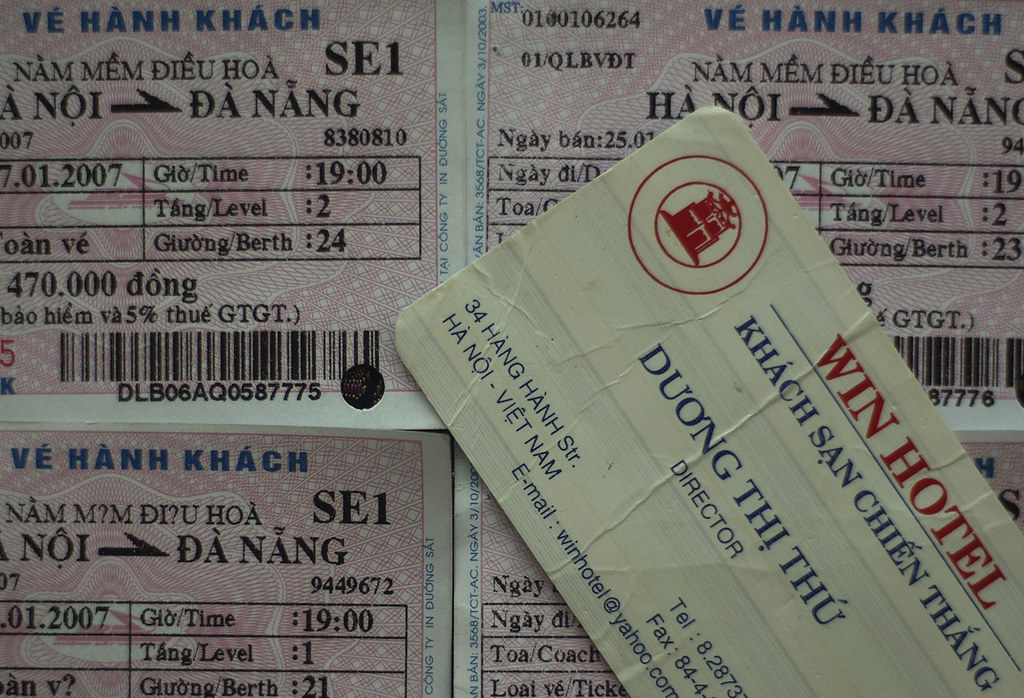 Tickets to Danang