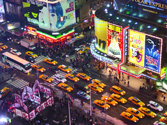 Black Friday (oybay) Tags: nyc newyorkcity newyork nikon manhattan taxi broadway taxis wicked timessquare hairspray tkts beautyandthebeast toomanypeople steelydan marriottmarquis theatredistrict enmasse abigfave ysplix notenoughpeople