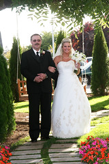 Pat and Stacie - Walking down the isle (JordanMGregory) Tags: wedding stacie ceremony jordan