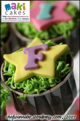 Cupcake Huruf