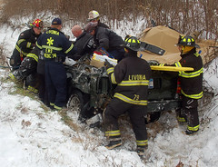 mva (firephoto25) Tags: rescue ny fire accident jaws ems extrication livonia