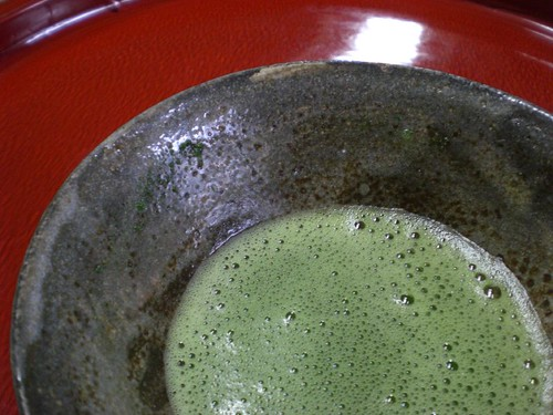 Matcha tea from Shimane