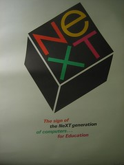 NeXT poster, Paul Rand