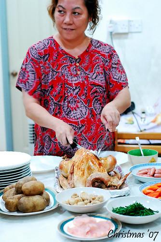 Mum's turkey