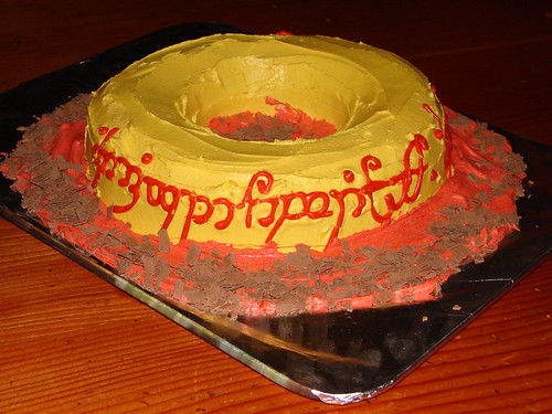 The One Ring cake