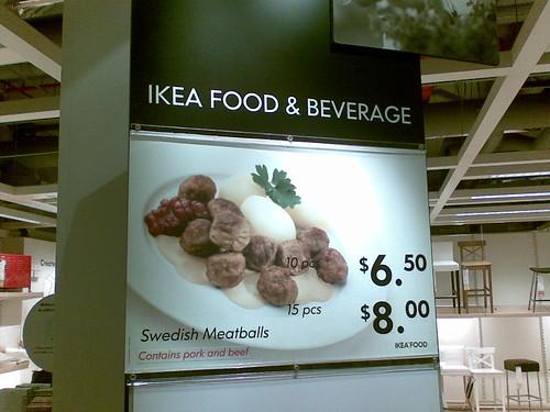 Mmm… Swedish meatballs