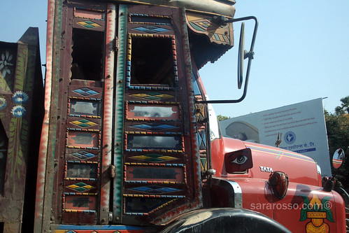 Decorative trucks in India
