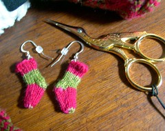 Sock Earrings