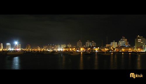 "Punta del Este à la nuit II | <a href=""http://www.flickr.com/photos/59207482@N07/2208122243"">View at Flickr</a>"
