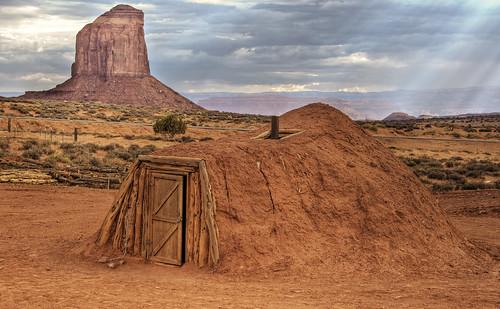 Navajo Hogan Shelter