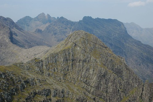 Onto the main Cullin ridge