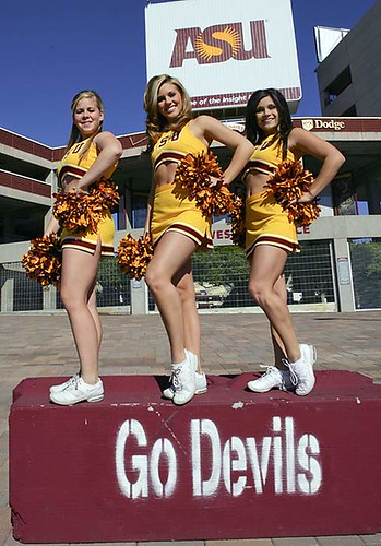 three-sun-devil-cheerleaders by imnatron.