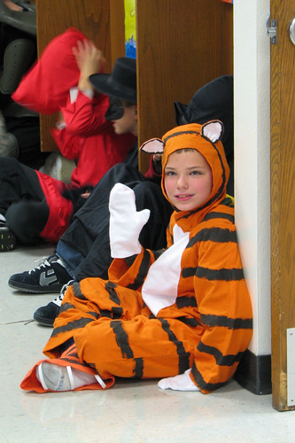AJ as 'Hobbes'