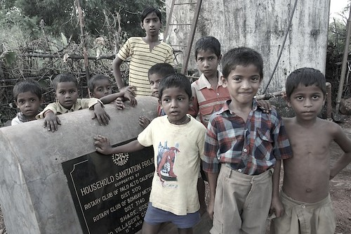 Sanitation Project in India