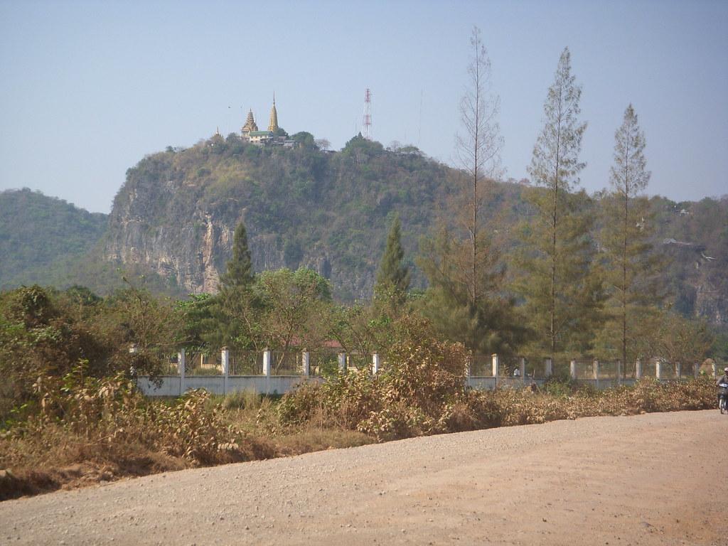 templo sobre el monte
