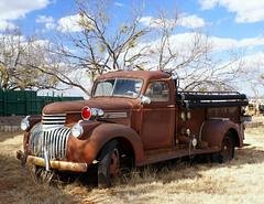 Rusty Fire Truck (BOB WESTON) Tags: rust firetruck taylorcounty tyetexas