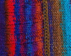 Halfobi crochet detail