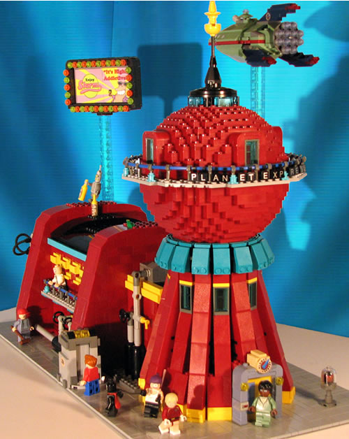 Futurama con Lego
