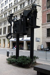 NYC: Louise Nevelson Plaza  by wallyg, on Flickr