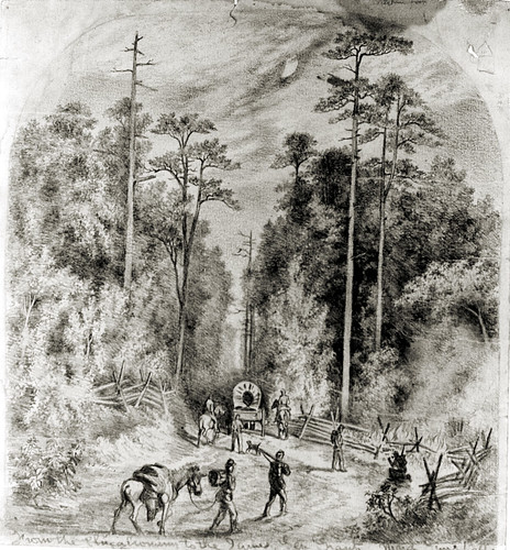Edwin Forbes Civil War Drawings - 014