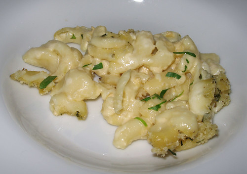 3-Cheese Mac 'n  Cheese with Black Truffles