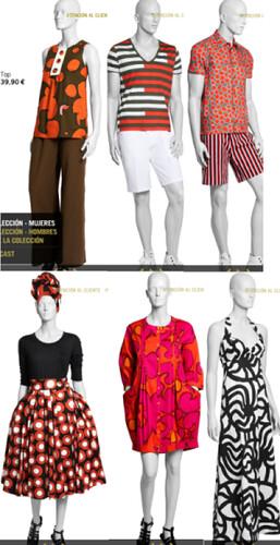 H&M y Marimekko, juntos en la primavera de 2008. Y feo feo, oyes.