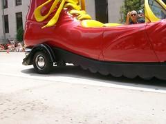 McD Shoe (SeastarzKT) Tags: shoe mcdonalds artcarparade