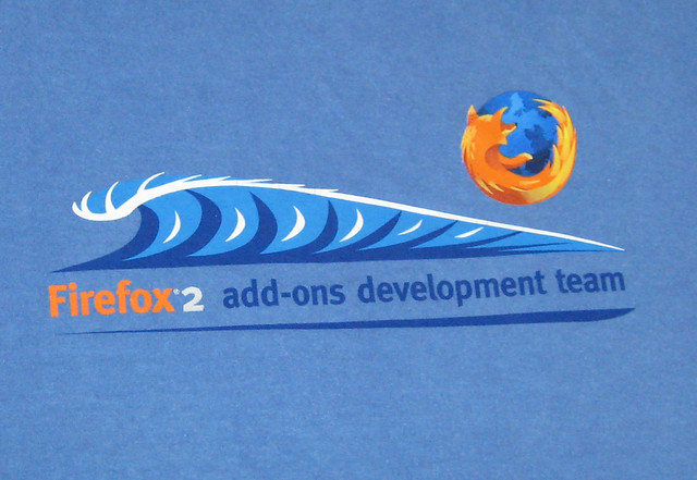 Firefox 2 Add-Ons Development Team T-Shirt