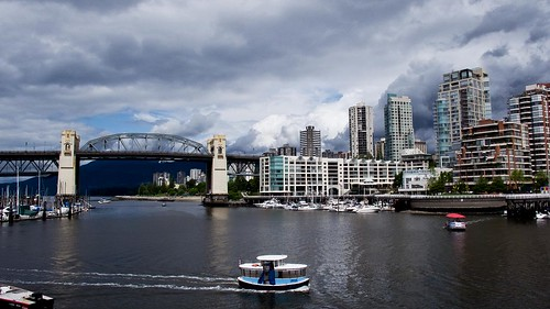 Vancouver, Burrard Bridge