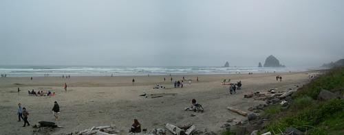 cannon beach panorama, 2