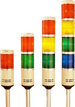colores y luces para un sistema andon