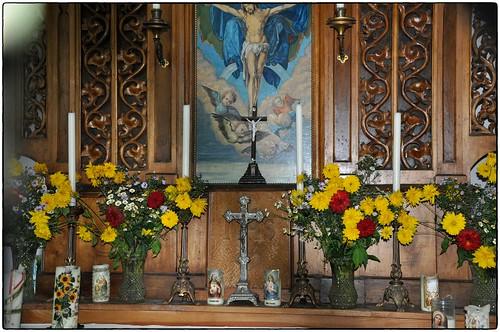 Altar der Gahbergkapelle