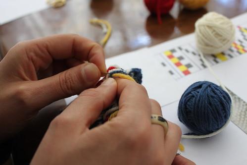 Workshop Tricotar a 2 Cores na Ovelha Negra no Porto