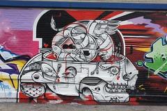 TATS Cru NYC (STEAM156) Tags: street nyc streetart art les graffiti travels mural photos bronx lowereastside murals bio places trains kings how walls msk revok nicer tats tatscru madsocietykings nosm bg183 themuralkings hownosm steam156