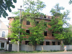 Unknown Construction (Phnom) Tags: city urban brown building brick architecture russia south unknown don taganrog toppedout