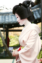 P R O F I L E : Katsuya (mboogiedown) Tags: travel woman beauty smile japan asian temple japanese spring kyoto asia tea traditional ceremony culture geiko geisha kimono tradition kansai katsura nodate hanamachi katsuya oshiroi discoverkyoto kamischichiken