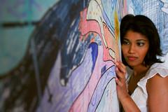 paint by number (rex dart: eskimo spy) Tags: portrait fashion digital graffiti elevator prema studiolights wwwlanguagelesscom