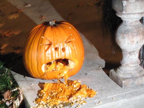 Nauseated Pumpkin