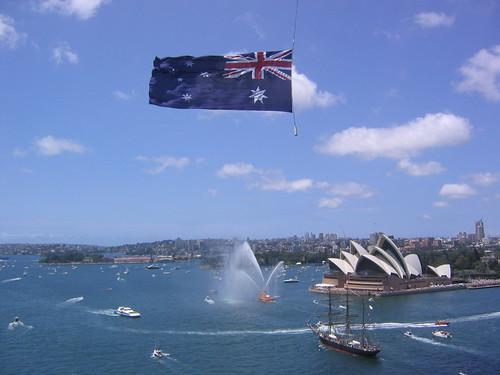 Image result for australia independence day celebration boat