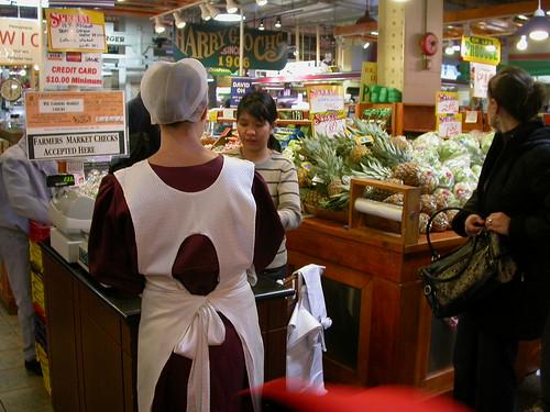 Buying bananas