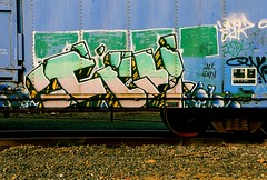 Ich YME (All Seeing) Tags: art graffiti trains tags owl ichabod graffitiart freights paintedtrains epik freightgraffiti boxcarart hobotags newenglandgraffiti ichyme ichabodyme