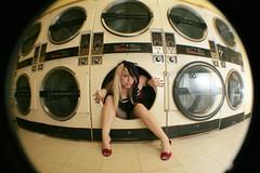(April Love Photography) Tags: sexy topv2222 shoes legs circles fisheye 50100fav machines laundromat leggyness topf70 flickrtate