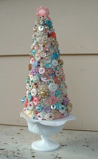 Button tree by Sarah