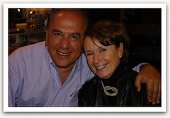 """Penny and Moe Atallah at the Newport Restaurant • <a style=""""font-size:0.8em;"""" href=""""http://www.flickr.com/photos/21584185@N07/2090433444/"""" target=""""_blank"""">View on Flickr</a>"""