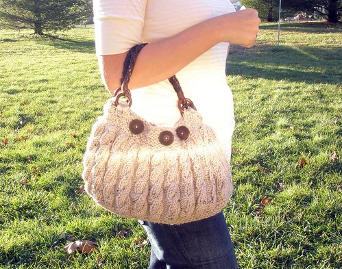 Holding purse