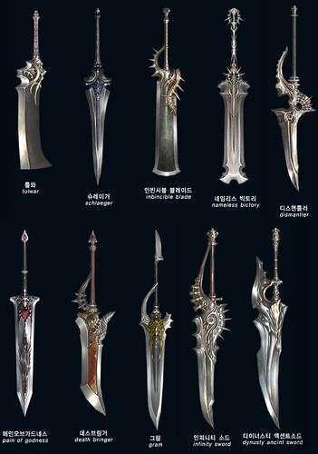 lineage 2 kamael. lineage 2 kamael espadas 01