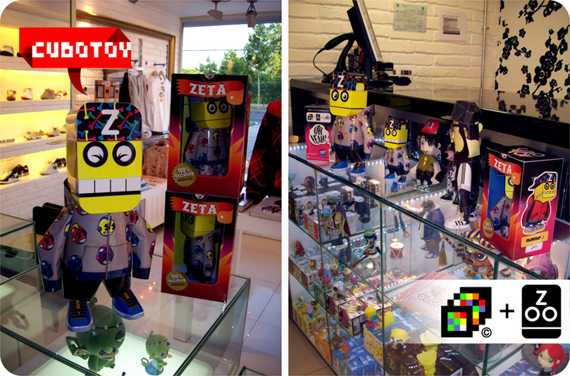 CUBOTOY in ZOO