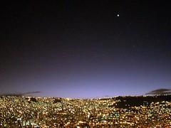 Venere e La Paz (Michele Zambon (mizaweb)) Tags: bolivia luci viaggi lapaz venere notturno stelle